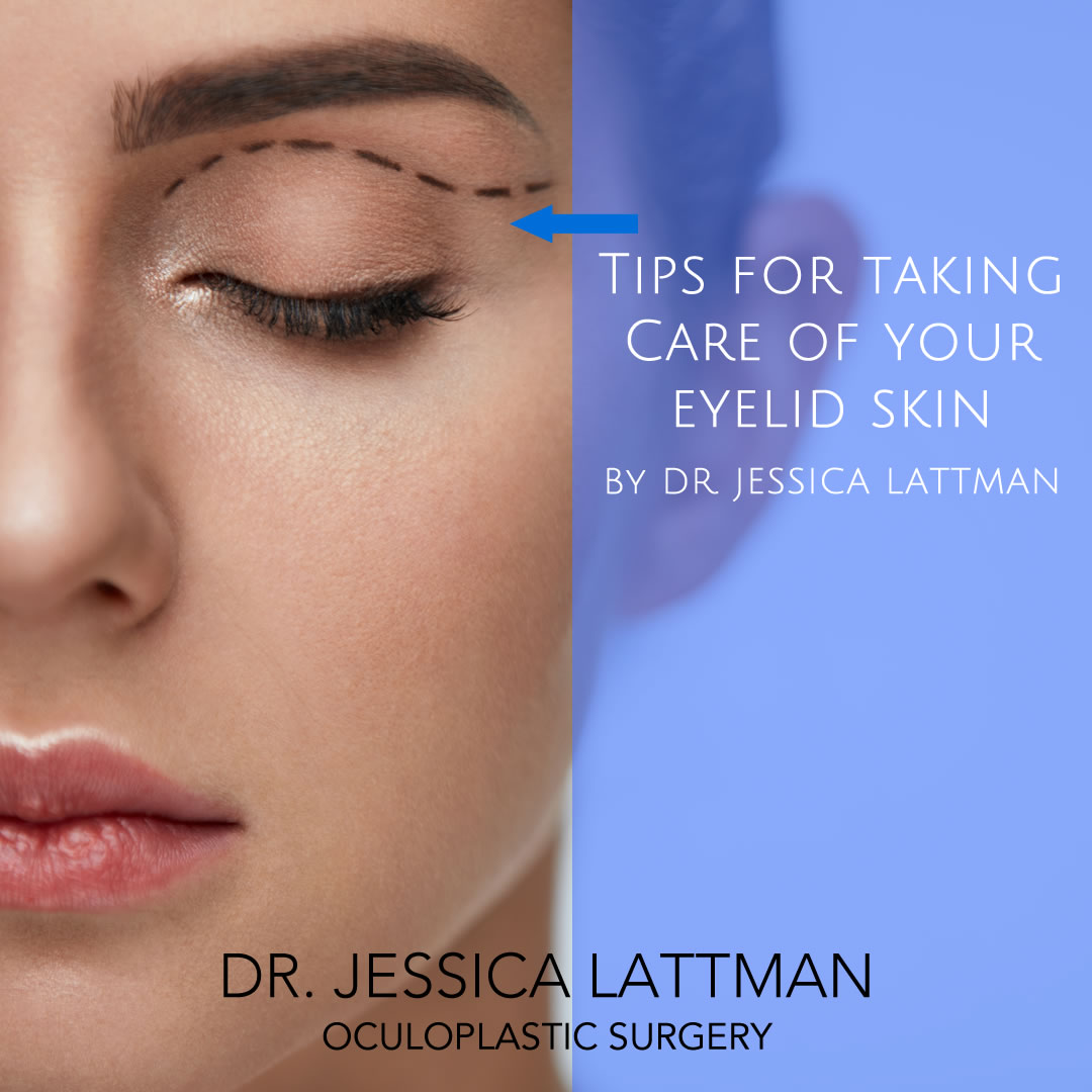 Eyelid Skin Care Tips