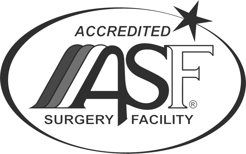 Accredited by American Association for Accreditation of Ambulatory Surgery Facilities