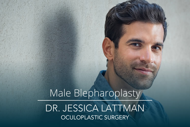 NYC Male Eyelid Blepharoplasty