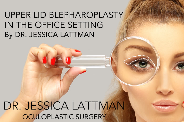 Upper Lid Blepharoplasty NYC